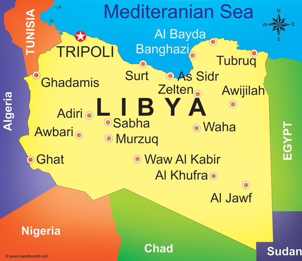 Eni's activities in Libya   Eni   Libia
