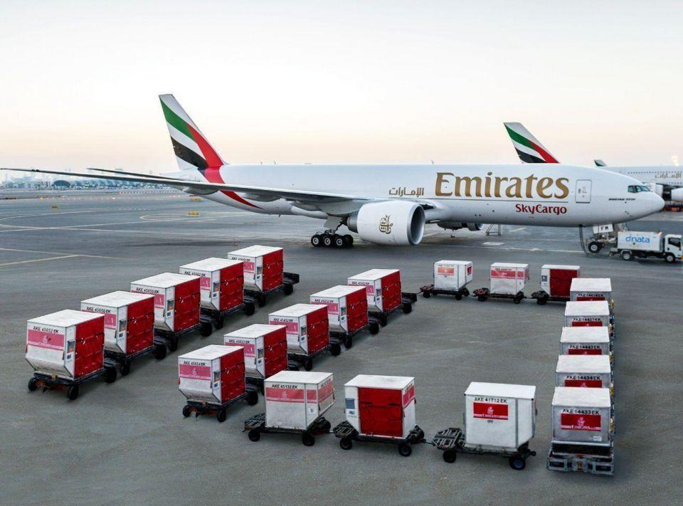 cargo to australia officials